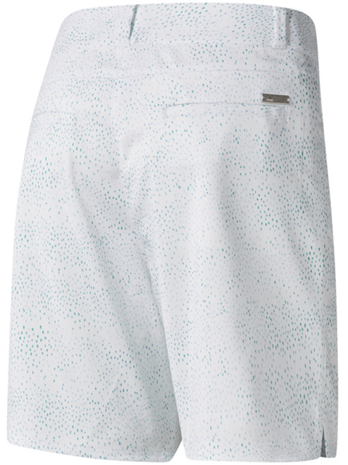 Adidas Ladies Printed 7 Inch Short - Hi-Res Aqua F18