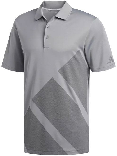 Adidas Bold 3-Stripes Polo - Grey Three F17/Grey Four F17