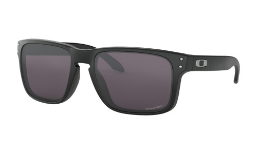 Oakley Holbrook Sunglasses - Matte Black w/ PRIZM Grey