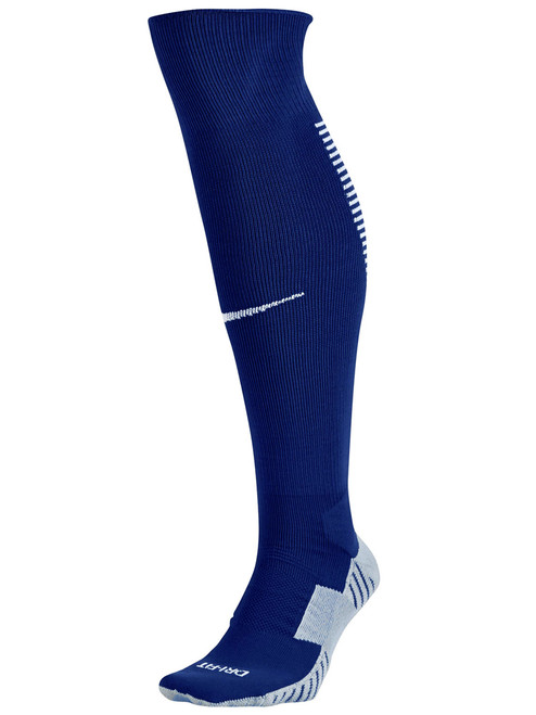 Nike Stadium Football OTC Socks - Game Royal/White