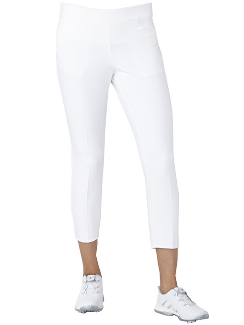 Adidas Ladies Adistar Ankle Pant - White