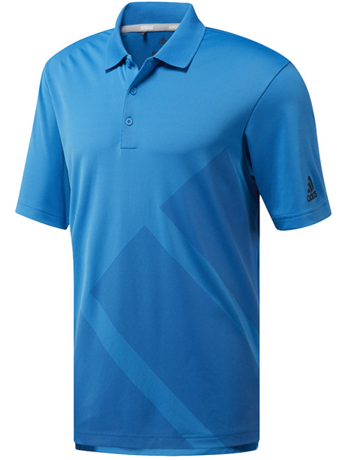 Adidas Bold 3-Stripes Polo - Bright Blue