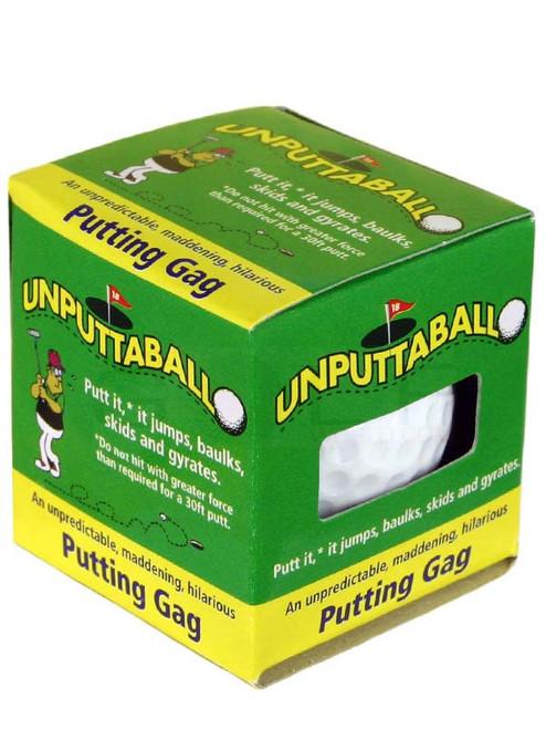 Trick Golfball Unputtaball