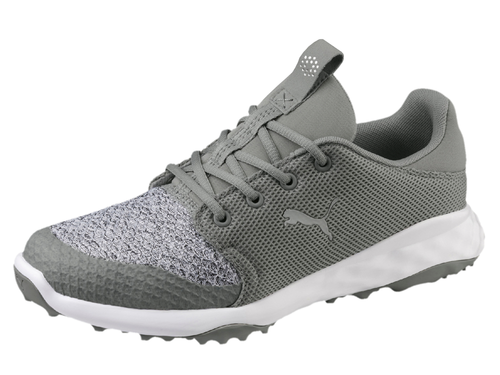 Puma Grip Fusion Sport Golf Shoes - Limestone/Grey Violet