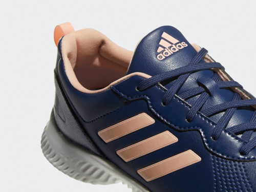 Adidas Ladies Response Bounce Golf Shoes - Navy/Clear Orange