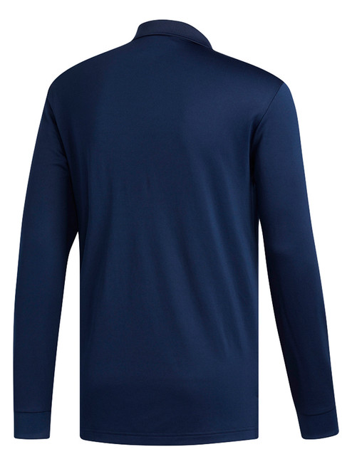 Adidas Essentials Long Sleeve Polo - Colligate Navy