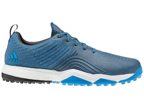 Adidas Adipower 4orged S Golf Shoes - Bright Blue/Core Black