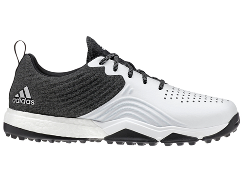 Adidas Adipower 4orged S Golf Shoes - Core Black/FTWR White