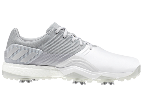 Adidas Adipower 4orged Golf Shoes - Clear Onix/White/Silver