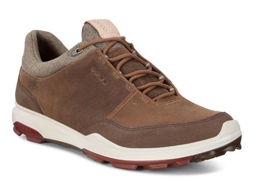 Ecco Biom Hybrid 3 Golf Shoes - Birch/Coffee