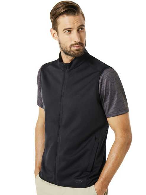 Oakley Range Full Zip Vest - Blackout
