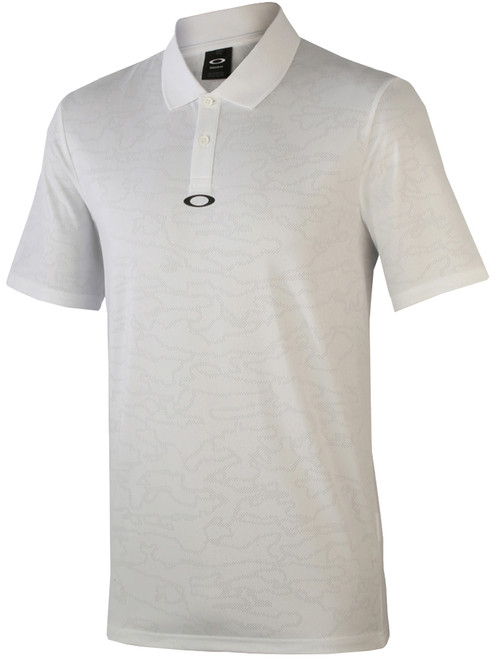 Oakley Perforated Polo - White