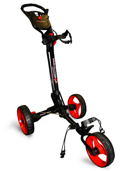 Stonehaven Glide Golf Buggy - Black/Red