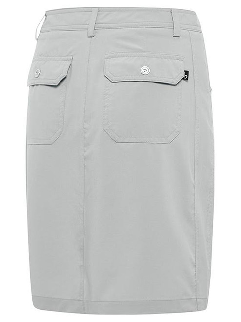 Birdee Golf Techno Stitch Skort - Silver