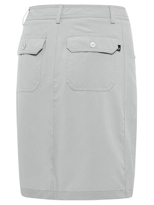 Birdee Golf Techno Stitch Skort - Silver