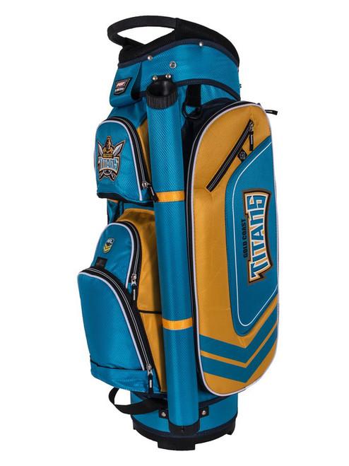 Official NRL Cart Bag - Gold Coast Titans