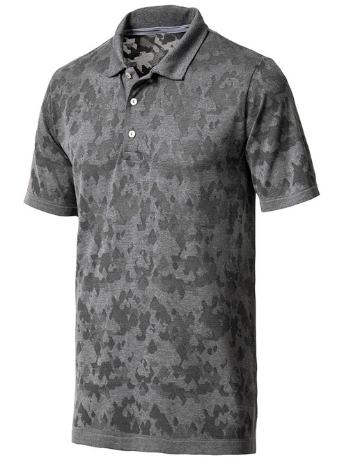 Puma Evoknit Camo Polo - Quiet Shade