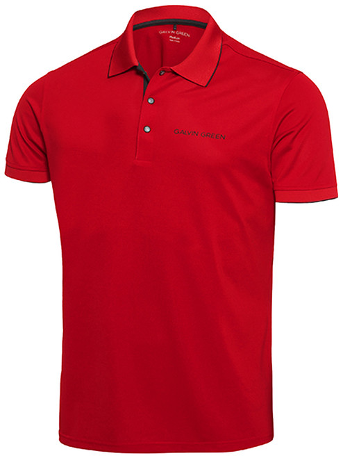 Galvin Green Marty Tour Polo - Red