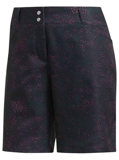 Adidas Ladies Printed 7 Inch Short - Shock Pink