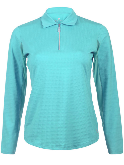 Bette & Court Ladies Cool Elements Swing Polo - Maliblu