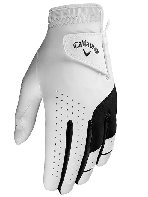 Callaway Weather Spann 2019 Golf Glove - White
