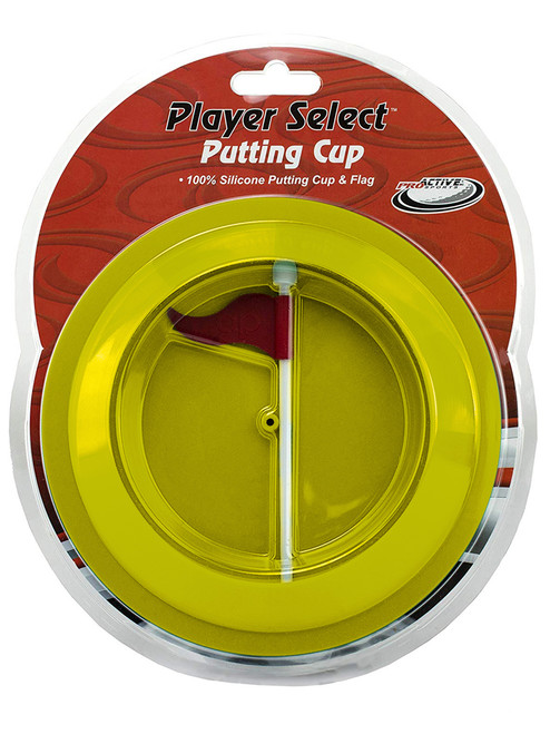 Proactive Rubber Putting Cup Yellow