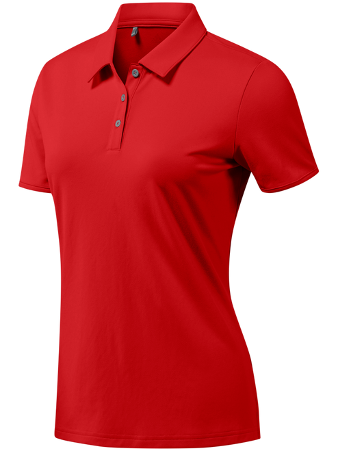 Adidas Ladies Tournament Polo - Collegiate Red