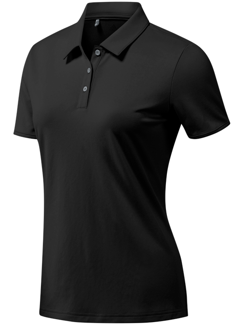 Adidas Ladies Tournament Polo - Black