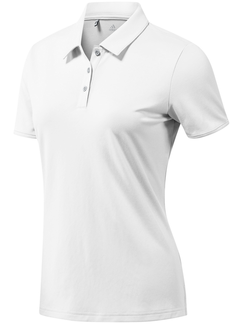 Adidas Ladies Tournament Polo - White