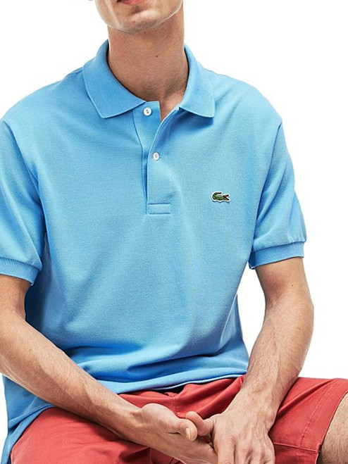 7aa66fbc Lacoste L.12.12 Classic Polo - Ocean Blue - Mens For Sale | GolfBox