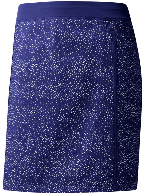 Adidas Ladies Ultimate Adistar Printed Skort - Real Purple