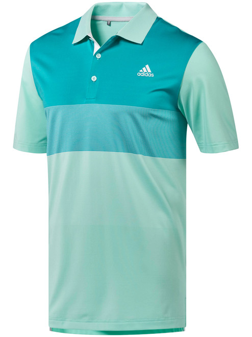 Adidas Ultimate Gradient Polo - Clear Mint F18