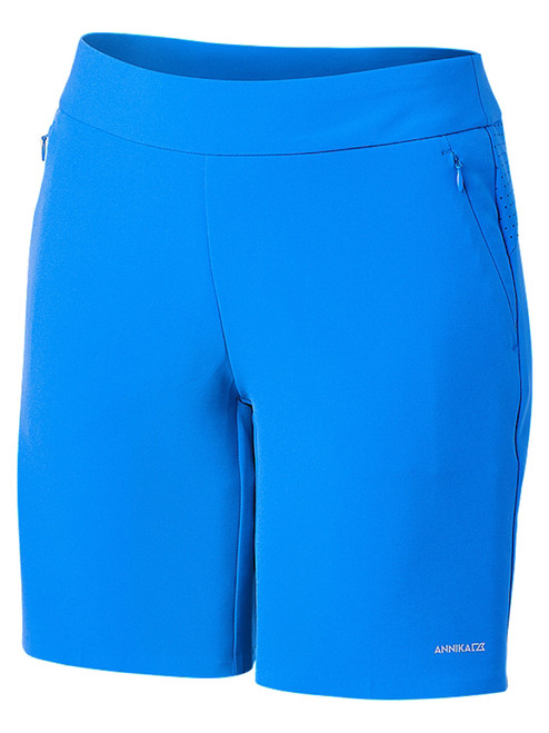 Annika W Competitor Pull On Short - Sport Blue