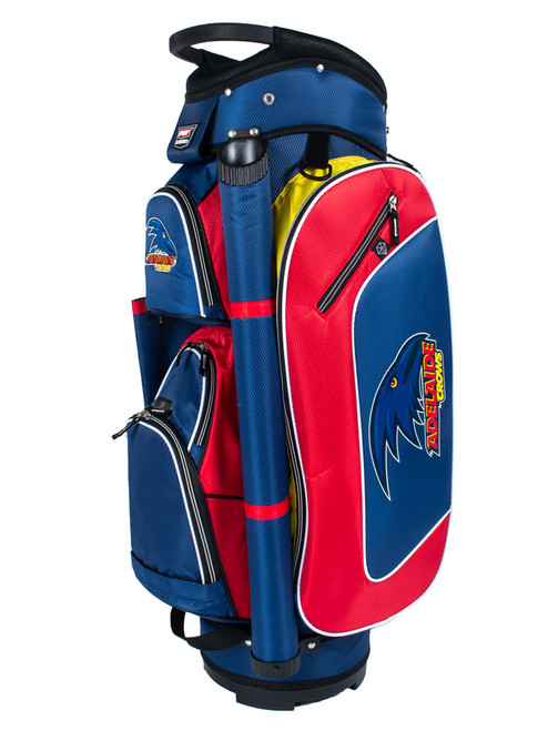 Official AFL Deluxe Cart Bag - Adelaide Crows