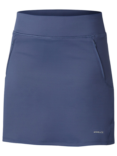 Annika Interval Pull On Skort - Sport Slate
