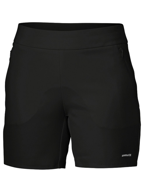 Annika W Competitor Pull On 6'' Short - Black