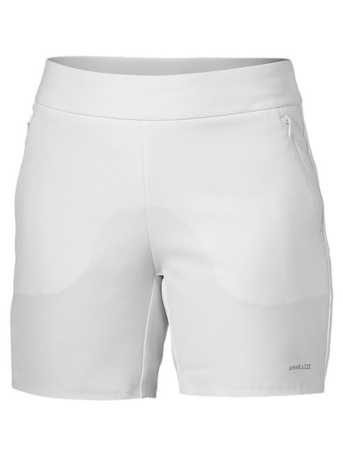 Annika W Competitor Pull On 6'' Short - White