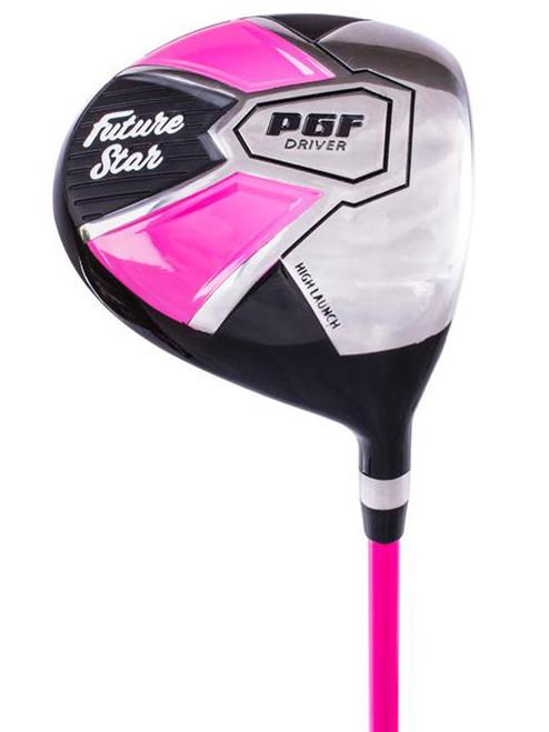 PGF Future Star JWS Driver - Ages 9-12 Pink