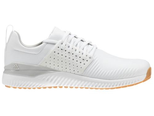 86501ec5eda2a Adidas Adicross Bounce Leather Golf Shoes - FTWR White Grey - Mens ...