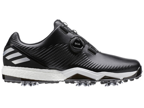 Adidas Adipower 4orged BOA Golf Shoes - Core Black/Silver