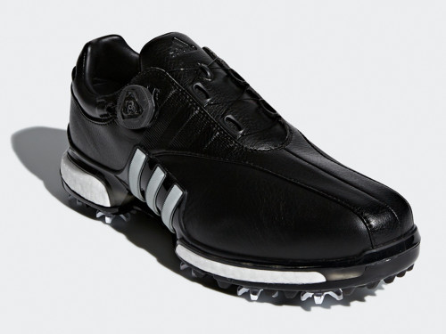 224a6bacedb0 Adidas Tour360 Boost EQT BOA Golf Shoes - Core Black White - Mens ...