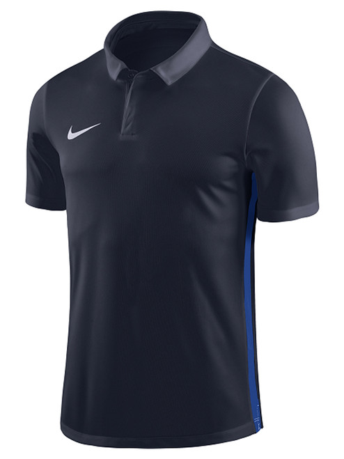 Nike Youth Academy '18 Polo - Navy/Royal Blue