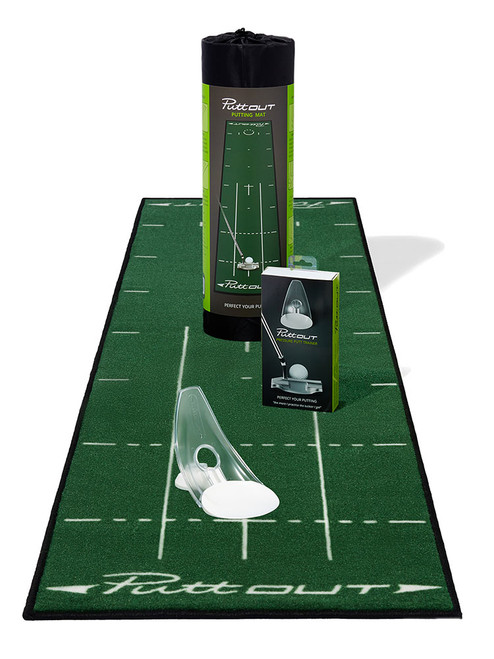 Puttout Mat and Pressure Trainer Combo Green White