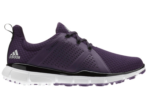 Adidas W Climacool Cage Golf Shoes - Legend Purple/Black