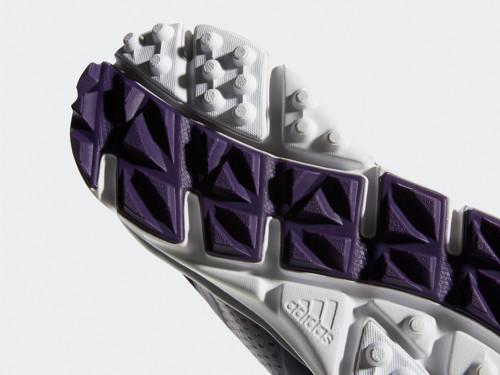 Adidas W Climacool Cage Golf Shoes - Legend Purple/Black