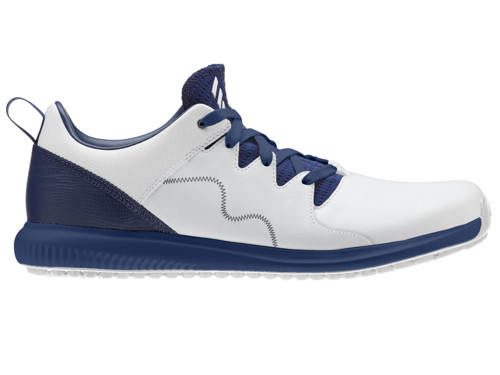 Adidas Adicross PPF Golf Shoes - FTWR White/Dark Blue