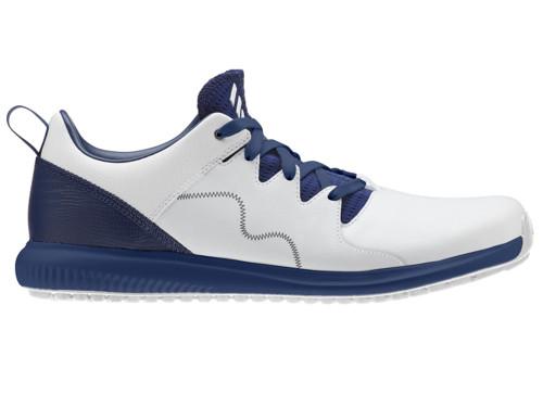 Adidas Adicross PPF Golf Shoes - FTWR White/Dark Blue
