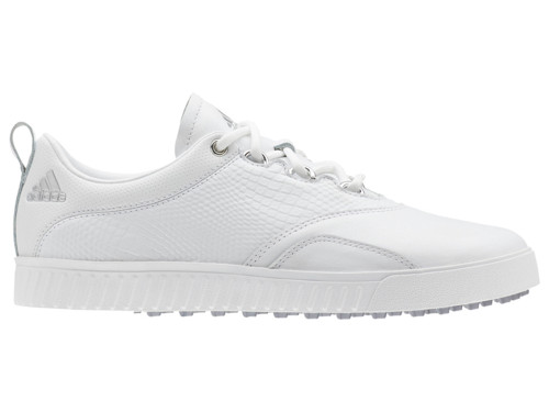 Adidas W Adicross PPF Golf Shoes - FTWR White/Silver Met.