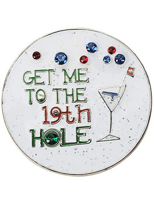 Navika Glitzy 19th Hole Ball Marker