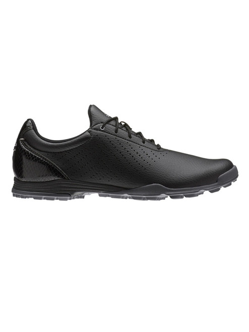 Adidas Ladies Adipure SC Golf Shoes - Core Black/Silver Met.